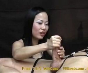 Asian Girl Gives an Intense Hand Job You Will Never..