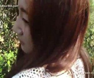 Chinese lovers making love outdoor - 5 min