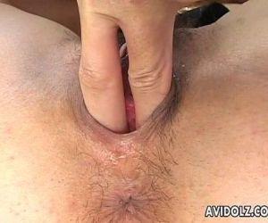 Yummy Japanese babe enjoys smutty group pounding - 8 min