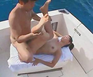 Maria Ozawa gets fucked on boat trip