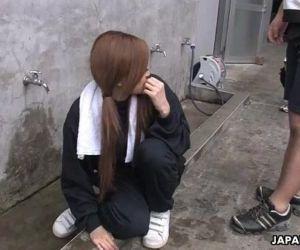 Asian slut getting eaten out by the boys - 1 min 16 sec