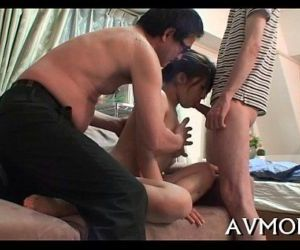 Mother id like to fuck receives large cock to play with -..