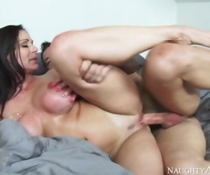 Naughty America - Kendra Lust has noticed that her..