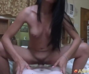 Asian Sex Diary - Asian with great body gets fucked by..