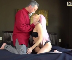 Dirty Cosplay - Sensei Teaches Student How To Handle A..