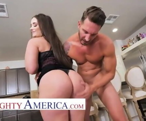 Naughty america Gia Paige fucks her neighbor