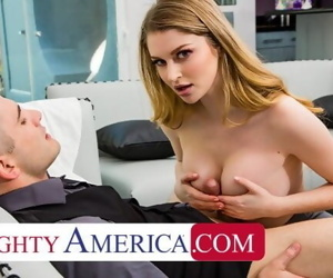 Naughty America Real Estate agent Bunny Colby does what it..