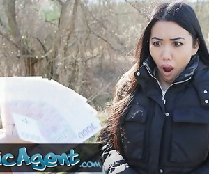 Public Agent Asian Alina Crystall Fucked in Abandoned..