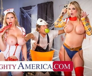 Naughty America - MILFs in Costume, Casca Akashova &..