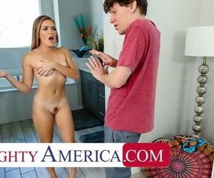 Naughty America - Katie Kush Fucks her Friends Big Cock..