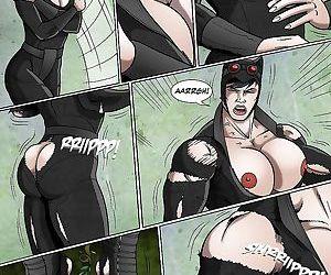 Catwoman Muscle Growth