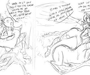 Natsumemetalsonic Sketches 2 - part 12