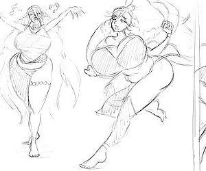 Natsumemetalsonic Sketches 2 - part 15