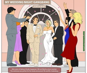 Hotwifecomics – My wedding night gangbang