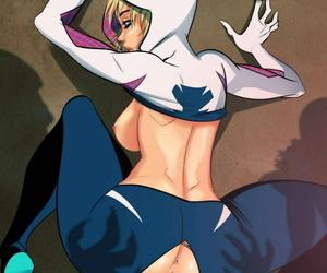 Tinkerbomb Spider-Gwen #2 Spider-man