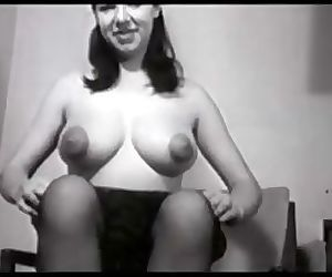 Vintage Big Puffy Nipple Compilation