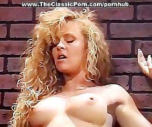 Gorgeous blonde classic porn star