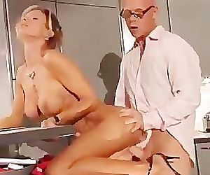 Mature German Blonde Fucked