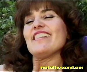 busty old MILF brunette banging in the backyard.natally.sexyi.am