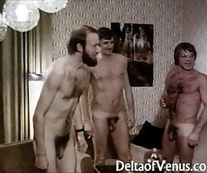 Vintage Porn 1970sClassic German Interracial