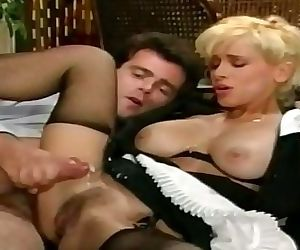 German vintage maid rough sex 5 min HD