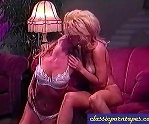 Girlfriends Go Lesbian In Vintage Scene