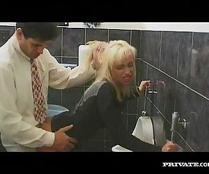 Gabriella Bond, Anal Sex in the Bathroom