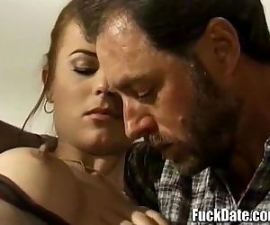 vintage hard anal fucking by big cock with amazing facial for hot retro babe