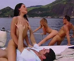 PrivateClassics.comDP Orgy in a Millionaires Ship