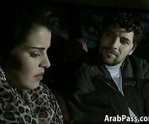 Arab Couple Having Sex In An Old BMW