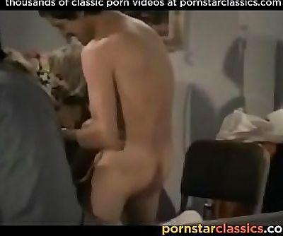 Amazing retro hardcore orgy starring most popular pornstars 5 min