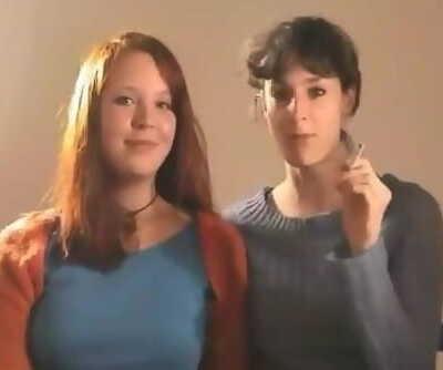 2 GOOD FEMALE SMOKERS SMOKING IN 2002