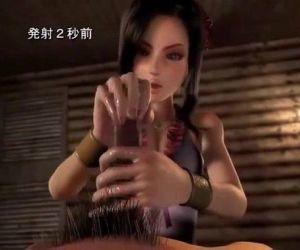 Japanese 3D POV Blowjob and Sounding - 11 min