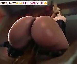 Big ass riding on black cock in crazy porn game! 59 sec