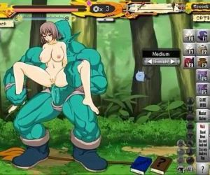Hentai Game Witch Gril - 5 min
