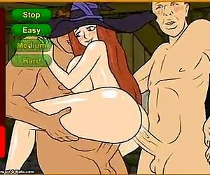 Meet N Fuck- Witch gangbang - 3 min