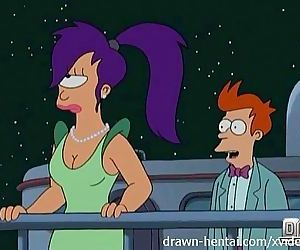 Futurama Hentai - Cheer up Leela - 5 min