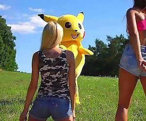 Pika PikaPikachu Pokemon Porn 8 min HD