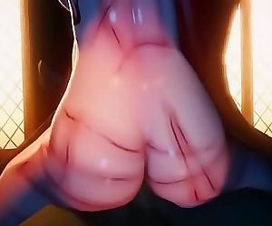Katarina The Generals Daughter 3d hentai rough gangbang 8 min