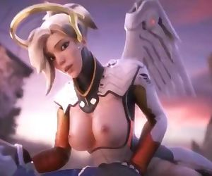 - Gunmetal Black - Overwatch MERCY Remix