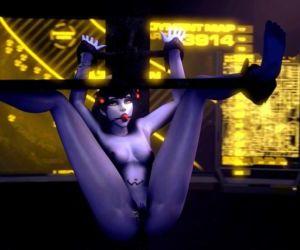 Overwatch Bondage Black Widow Release
