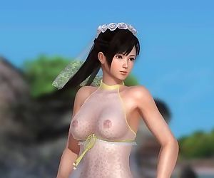 Dead or Alive 5 1.09 - Kokoro Dance on the Beach w/ Sexy Outfits #1