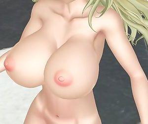 3D MMD Atagos Swing Dance