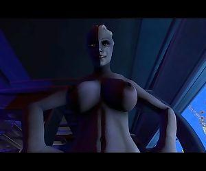 Liara fucks Shepard