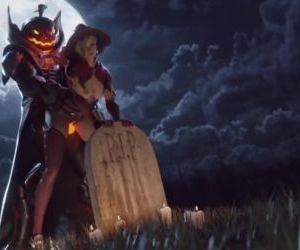 Overwatch - Witch Mercy x Reaper Halloween Animation