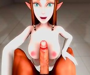 Princess Zelda Blowjob POV