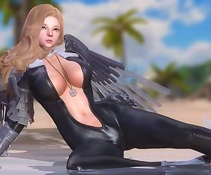 Dead or Alive 5 1.09BH - Nevans Stretch on the Beach