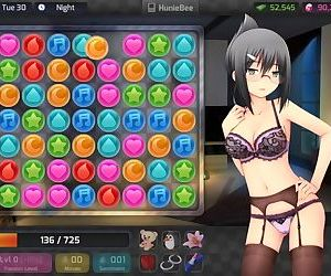 - HuniePop Aiko bedroom stage
