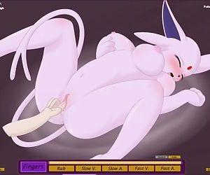 Pokemon Espeon hentai sex game