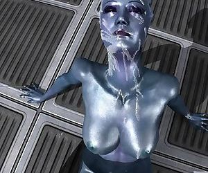 mass effect liara cumshot facial
